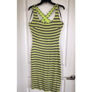 Multi Striped Stretch Dress